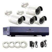 4CH 1080P POE Network Video Security Surveillance CCTV System 2 0MP PoE Camera 8CH 1080P NVR