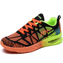 Air Cushion Women Running Shoes Blue Sneakers Women Women's Sports Shoes Men Sport Shoes Woman Gym Basket Femme 306PX