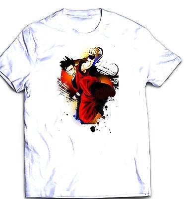 Camisa t-shirt goku dragon ball z gohan dragonball z super saiyan das  mulheres dos 1290abfc2cf