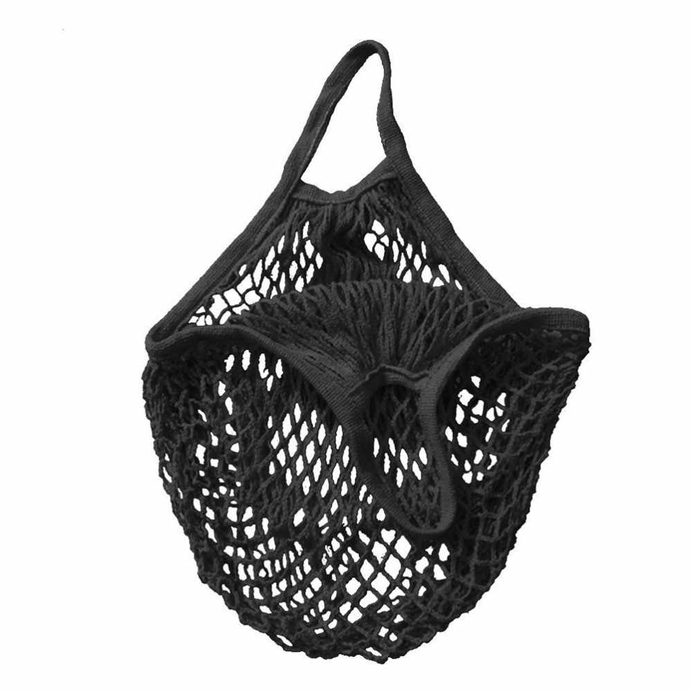 Mesh Net Turtle Bag 1Pc Environmental Protection Shopping Bag String Shopping Bags Reusable Fruit Storage Handbag Tote Wholesale