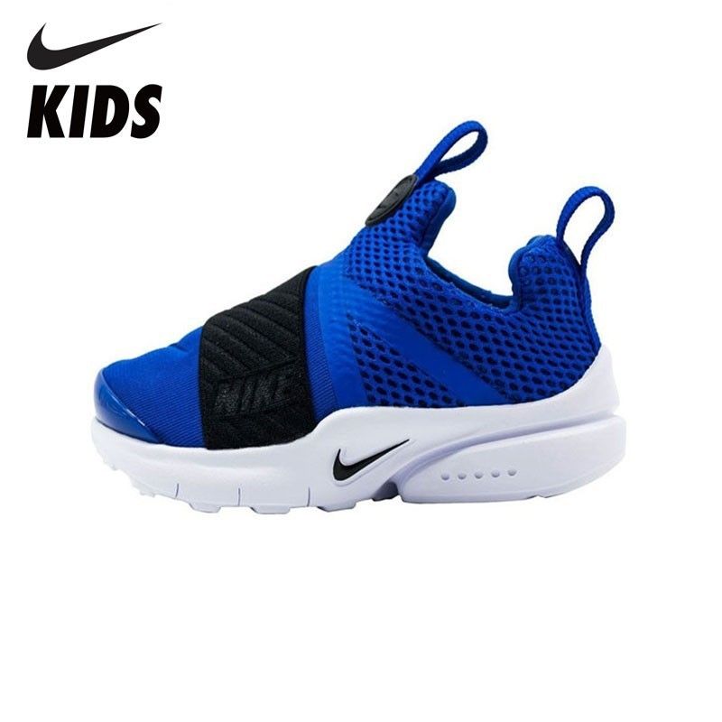 NIKE PRESTO EXTREME Breathable Sneaker Black Little Kids Running Shoes 870019-401