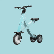 Foldable Electric Scooter Portable Mobility Scooter  Adults electric bicycle
