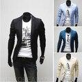 Envío gratis! 2015 con estilo cabidas delgadas doble botón de la boda de moda trajes chaqueta de negocios Txuedos