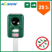 Outdoor Solar Ultrasonic Cat Repeller AN B030