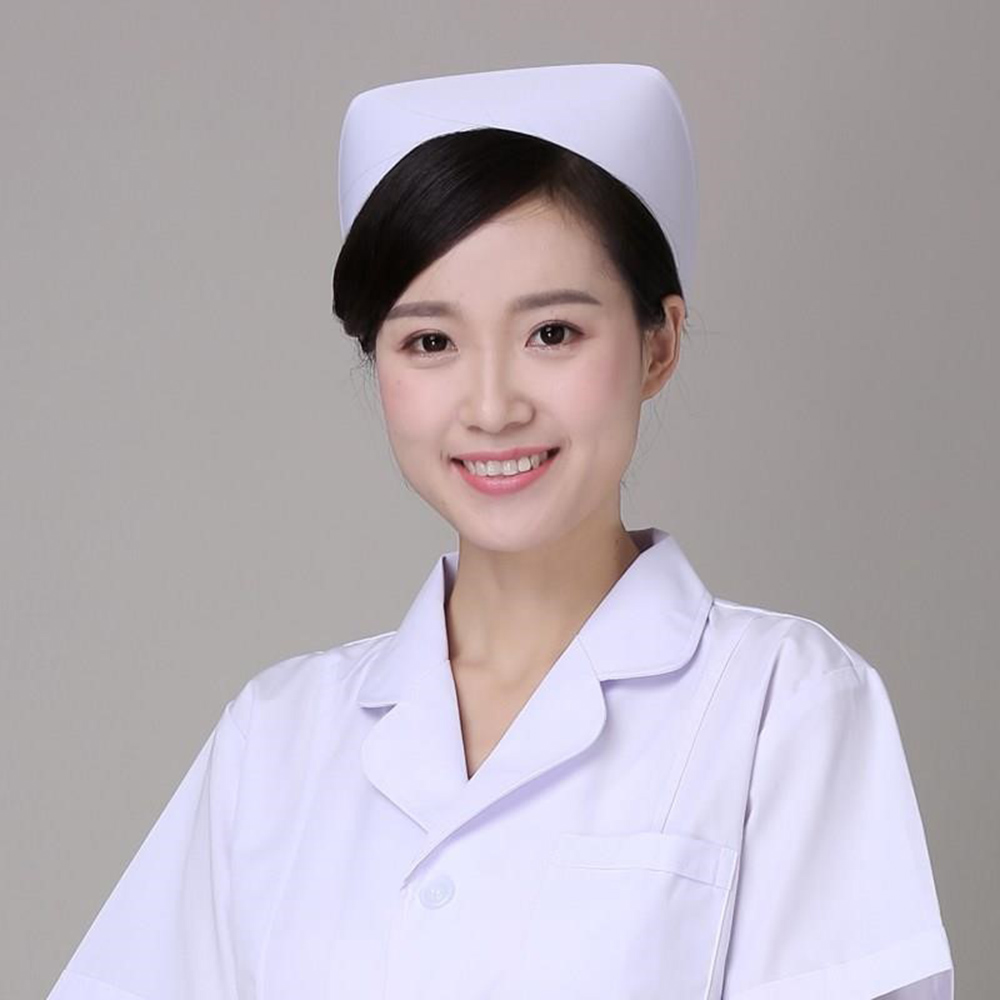 Blue Profession Nurse Hat Medical Staff Women Medical Doctor Hat Hospital Detist Surgical Work Caps Female White Pink Nurse Cap