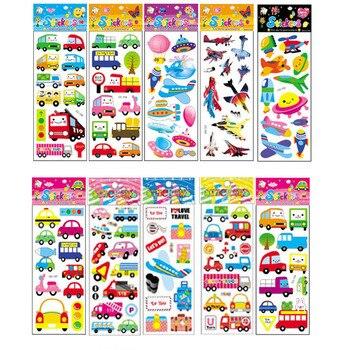 10 sztuk różnych kreskówek naklejki zabawki dla dzieci prezent przedszkole naklejki na telefon Notebook bez powtórzeń
