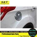 1 PCS Novo Chrome Fuel Gas Tank Cover Guarnição 2013 2014 2015 para Ford Kuga Fuga de Carro de alta qualidade chrome adesivos de carro guarnição styling