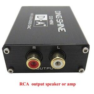 Image 4 - Lusya HIFI USB חיצוני כרטיס קול ES9018K2M DAC מפענח NE5532 + TL072 מגבר שרת תמיכת 24bit 96kHz A2 002