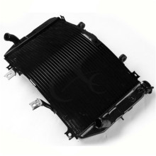 Motorcycle Aluminum Radiator For Suzuki GSXR1000 GSX-R 1000 K3 K4 03-04 Black