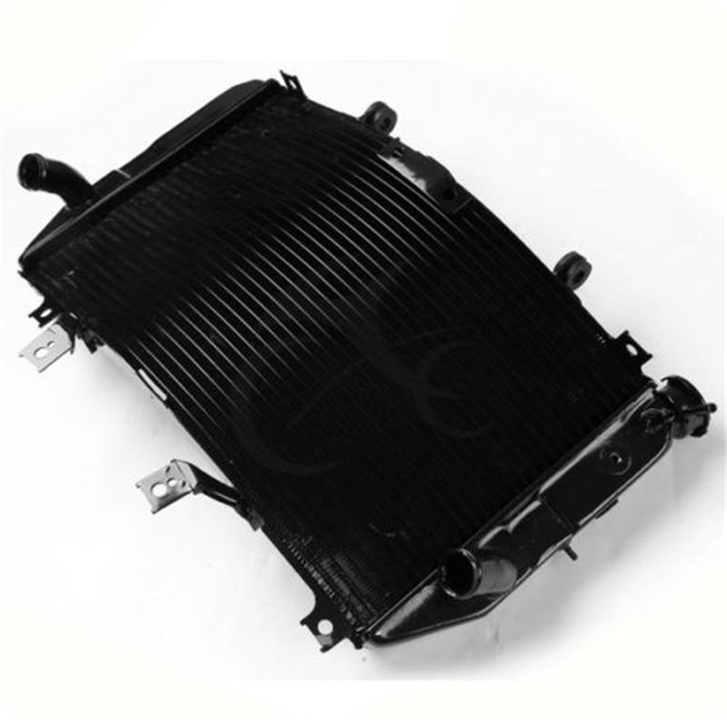 Motorcycle Aluminum Radiator For Suzuki GSXR1000 GSX R 1000 K3 K4 03 04 Black