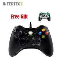 Controle joypad консоли microsoft xbox джойстик проводной геймпад контроллер pc игры