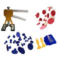 33 pçs ferramentas de remoção paintless dent para o corpo do carro ferramenta de reparo dent repair com dent levantador cola varas