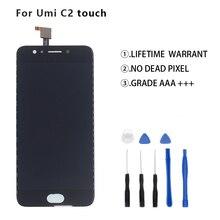 Оригинальный Для UMI umidigi C2 ЖК-дисплей Дисплей Сенсорный экран планшета Assmbly для UMI umidigi C2 ЖК-дисплей для телефона Запчасти