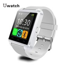 U8 Bluetooth Digital-uhr U80 U Smart Uhr Sport Armband Smartwatch Armband Freisprecheinrichtung für Android iPhone Samsung Xiaomi Mi