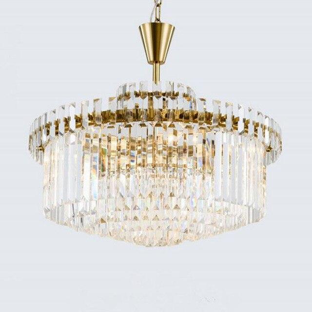 New lighting item large chandelier crystal chandeliers LED luminare ...