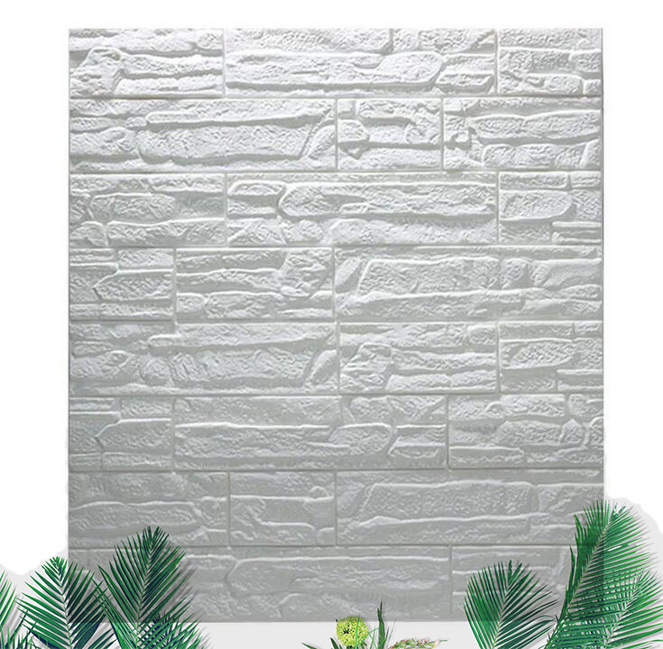 Foam Stone-Panels Embossed Bedroom Adhesive-Made Soundproof-Decoration Living-Room Three-D