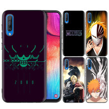 Black Silicone Case Bag Cover for Samsung Galaxy M10 M20 M30 S8 S9 S10 S10e 5G J3 J4 J5 J8 Plus 2018 S7 Edge Bleach Japan Anime(China)