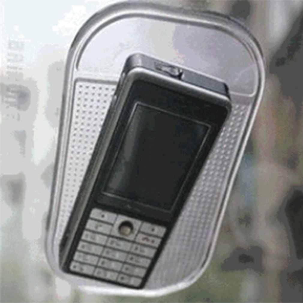 1 PC Mobil Dashboard Lengket Pad Silica Gel Hisap Kuat Pemegang Pad Anti Slip Tikar untuk Ponsel Mobil Aksesoris panas