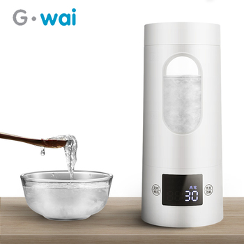 health raising pot fully automatic thickened glass multi function tea ware body electric heating kettle ware anti dry protection 300W Mini Portable Electric Kettle Travel Small Multi-function Automatic Tea Maker Timing Appointment Function Health Pot 220V