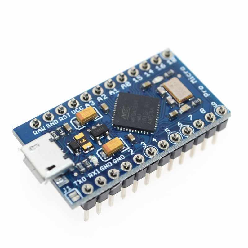 ATmega32U4 5V/16MHz Module New Pro Micro for arduino with 2 row pin header For Leonardo in stock . best quality