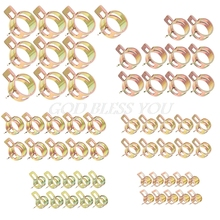 60Pcs Auto Car Spring Clip Fuel Oil Water Hoes Pipe Tube Clamp Fastener 6 Sizes стоимость