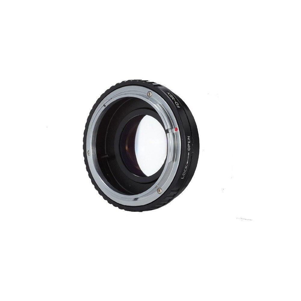 Meking Adjustable Aperture Focal Reducer Speed Booster Adapter FD Lens to  A7 A7r NEX5Meking Adjustable Aperture Focal Reducer Speed Booster Adapter FD Lens to  A7 A7r NEX5