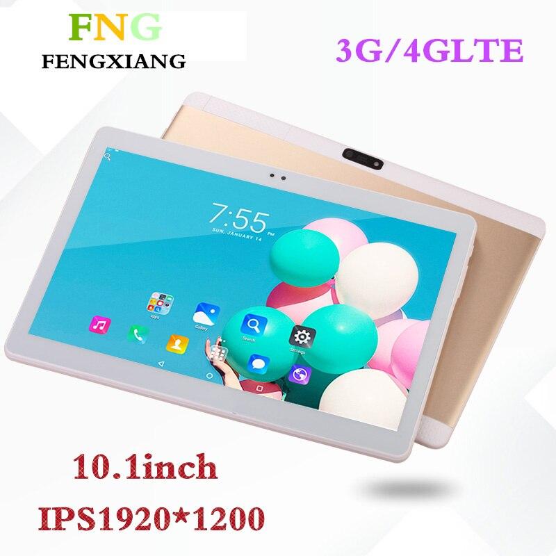 Livraison gratuite 10.1 pouces tablette pc Android 6.0 RAM 2 GB ROM 32 GB double SIM carte tablettes wifi Bluetooth 1920*1200 IPS tablette pcs 7 8