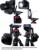 Metal Z - dobrável em forma de placa bola cabeça Quick Release Vertical Camera Bracket tiro Macro Pan Tilt cabeça para tripé Ballhead