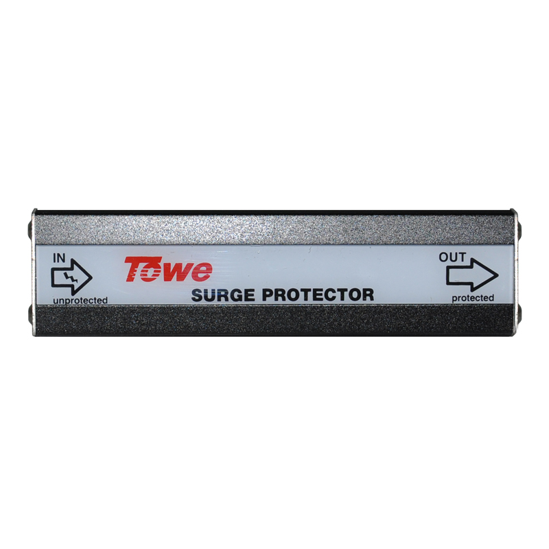 TOWE AP-VF-24/4S Terminal type 24V, 4 line data protection In 5KA communication line surge protector heavy duty 1800kg automatic sliding gate motor for gate drive with infrared sensor alarm lamp and loop detector