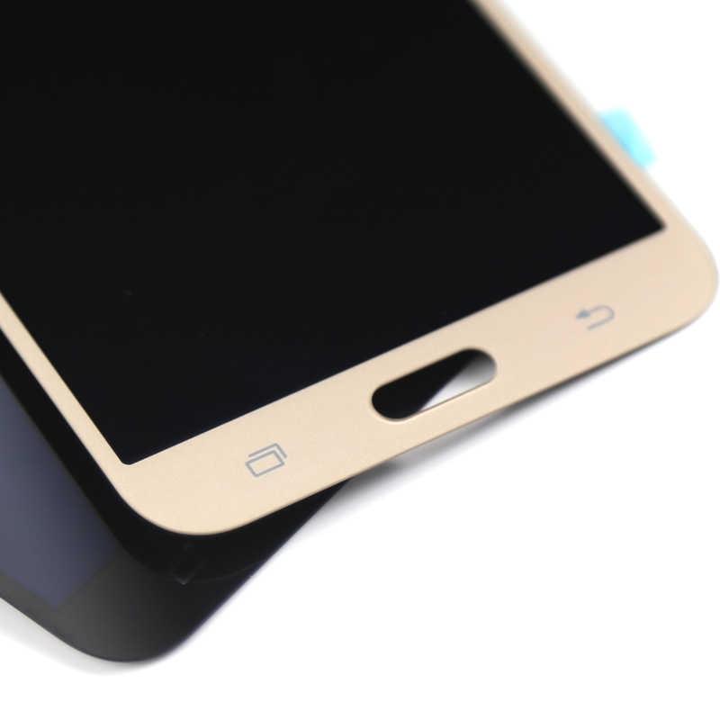 100% اختبار جيد ل عالية نسخة لسامسونج J7 2015 شاشة الكريستال السائل للهاتف المحمول J700 J700F غيار للشاشة lcd شاشة assambly