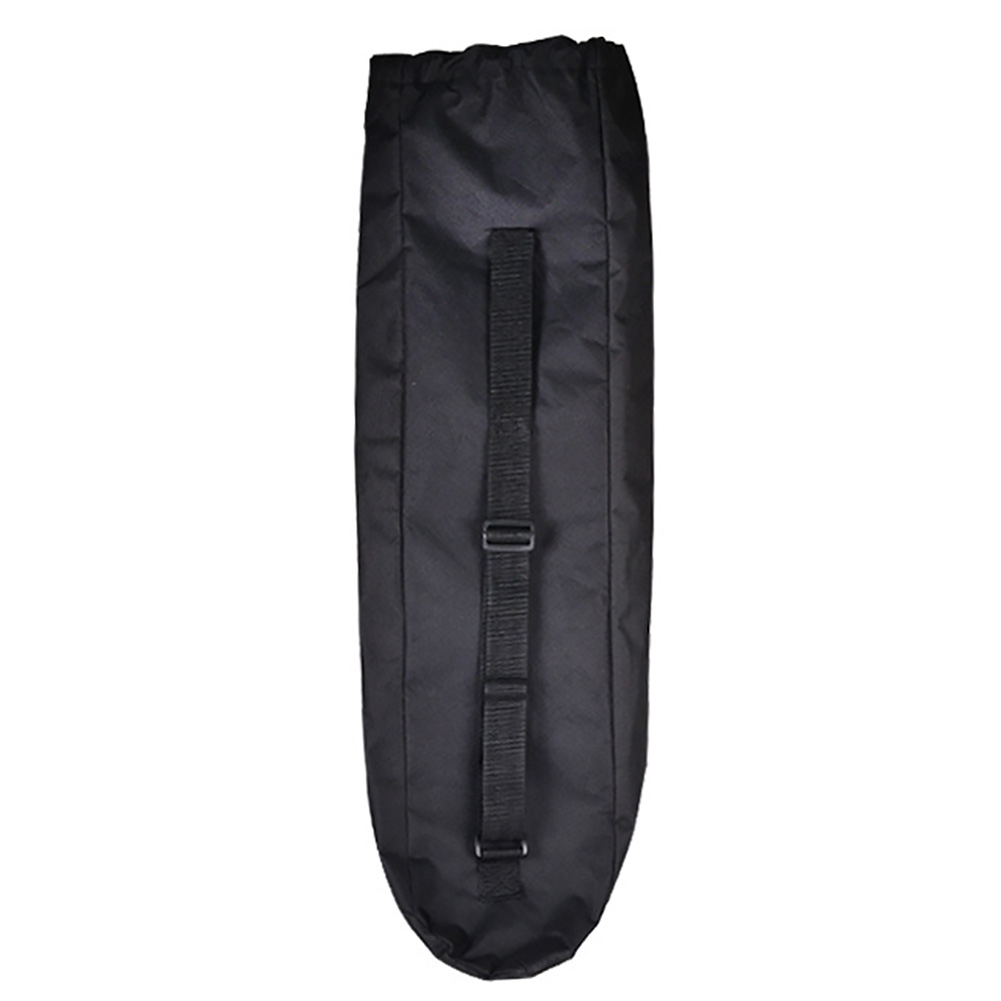 Adjustable Cover Black Shoulder Skateboard Bag Solid Unisex Waterproof Wear Resistant Travel Longboard Accessories Oxford Cloth
