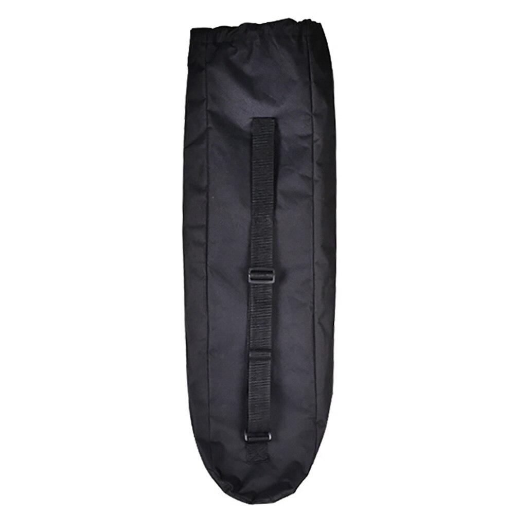 Adjustable Cover Black Shoulder Skateboard Bag Solid Unisex Waterproof Wear Resistant Travel Longboard Accessories Oxford Cloth