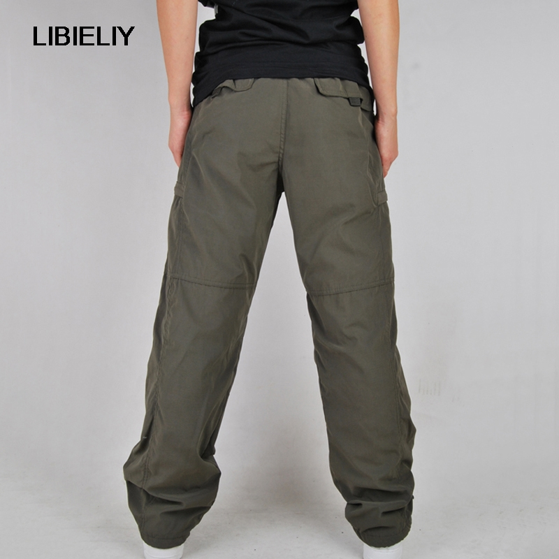 New coolMen Cotton Combat Pockets Utility Casual Cargo Pants Work Trousers Camouflage And Velvet Men Clothing Men Pants