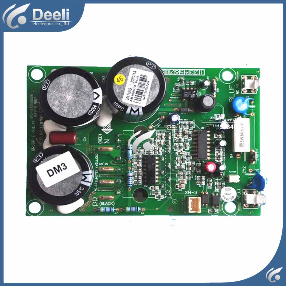 good working for air conditioning computer board JGP011A 30111019 C-7RZ233H1A PFC new board wire universal board computer board six lines 0040400256 0040400257 used disassemble