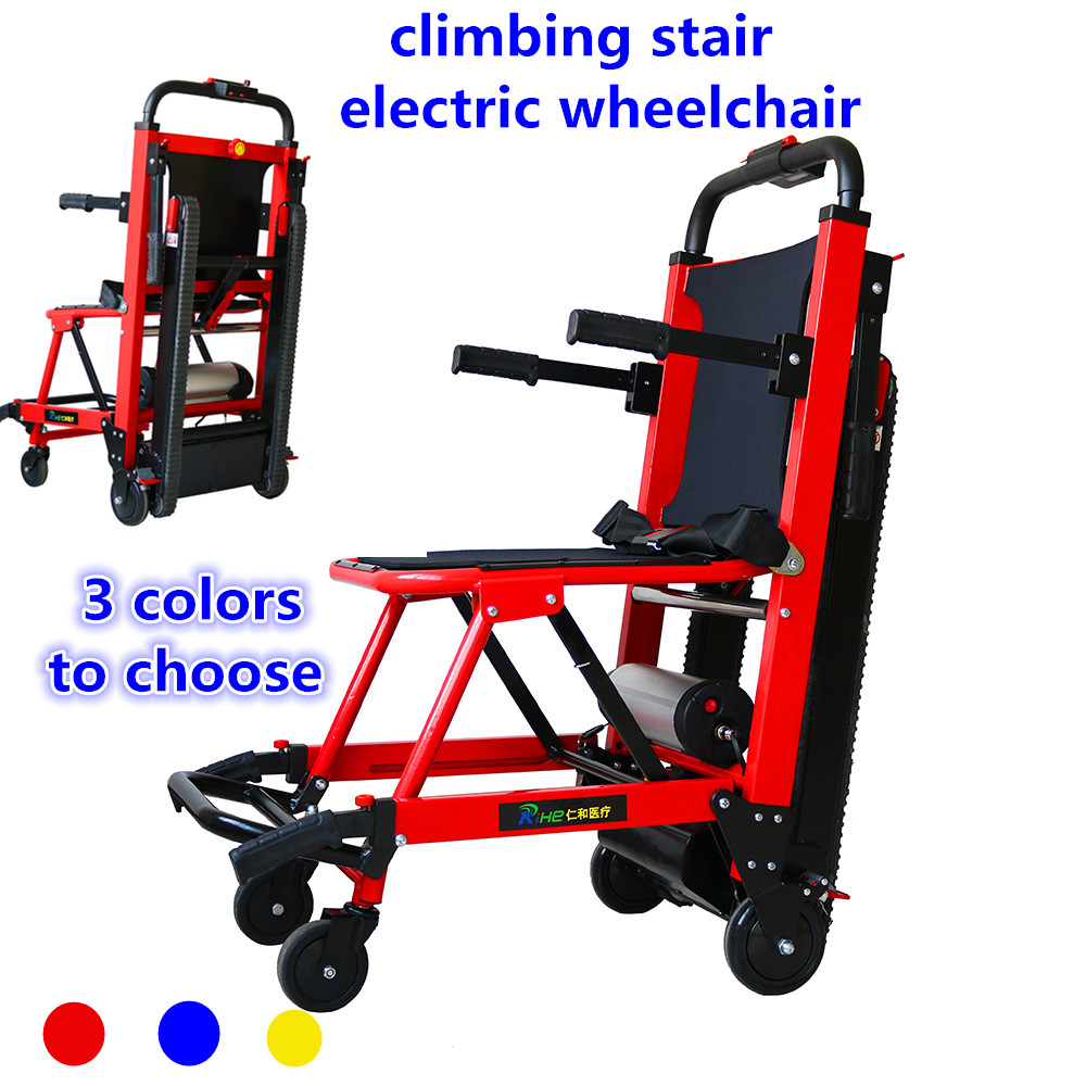 100% QualitäT Ältere Intelligente Automatische Oben Und Unten Treppen Leichte Falten Behinderte Menschen Kletterer Treppen Elektrische Rollstuhl Rheuma Und ErkäLtung Lindern