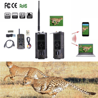 16MP Trail Hunting Camera 3G GPRS MMS SMTP SMS 1080P Video Night Vision 940nm Scouting Game Hunter Cameras Trap HC700G