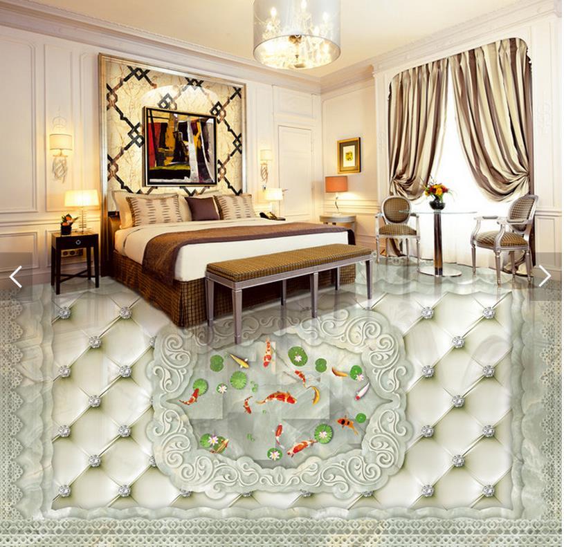 3d flooring European Style Carp Marble Parquet 3D Floor 3d wallpaper pvc 3d floor painting wallpaper free shipping european style parquet flooring marble floor relief 3d office decoration wallpaper bathroom mural