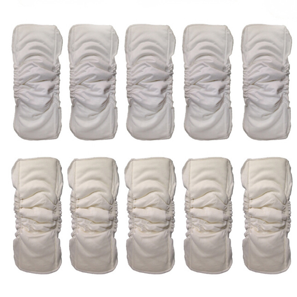 Infant Adults Solid Color Washable Reusable Absorbing Breathable Microfiber Diaper Wrap Nappies