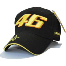 cotton Baseball Cap Wholesale Rossi 46 Embroidery Snapback Cap Hat Motorcycle Racing Caps VR46 Sport Hat for Men Women