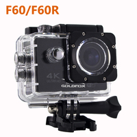 Action Camera 4K Ultra HD F60 F60R Wifi 1080P 60fps 16MP 2 0 LCD 170 Lens