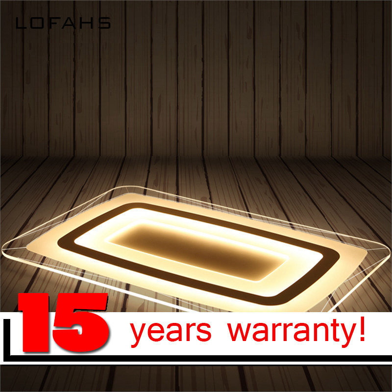 LOFAHS moderna luz de techo LLEVADA salón luces de acrílico lámpara ...