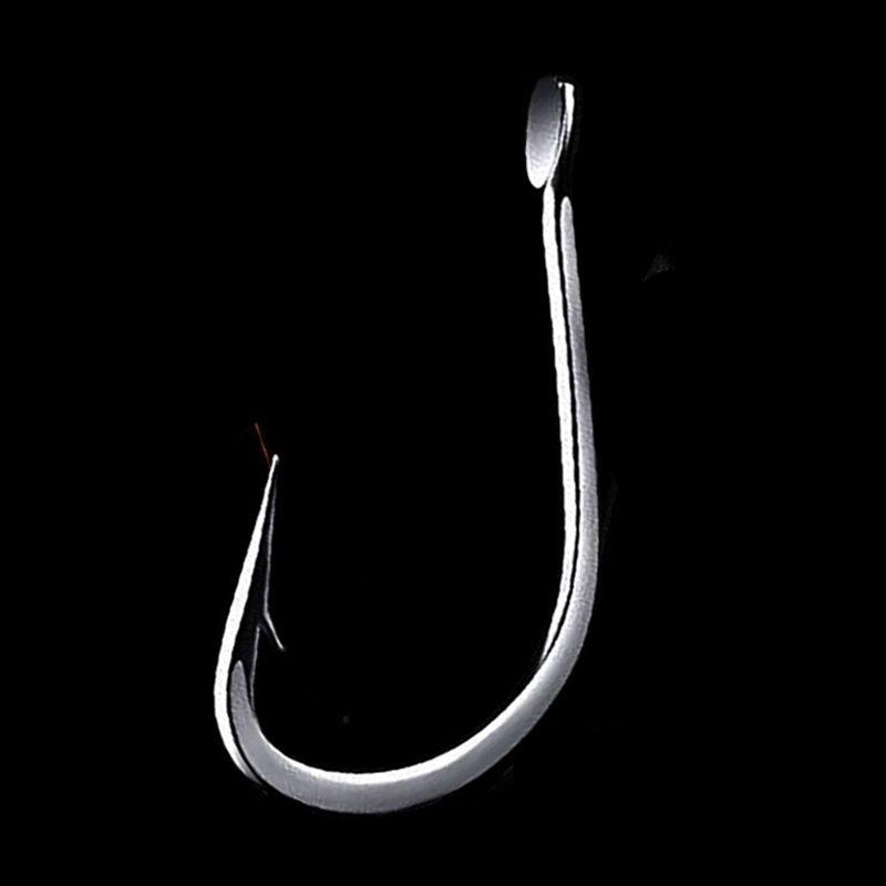100Pcs/Lot 1# 2# 3# To 11# High Carbon Steel Fishing Hook Fishhooks Durable Pesca Barbed Hook Fishing Tackle Box