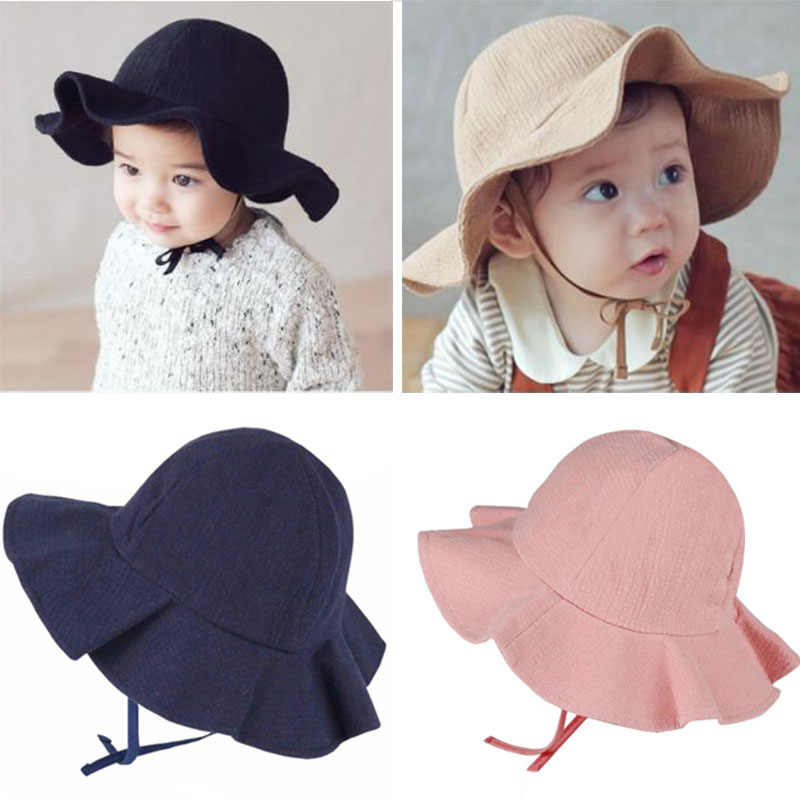 Baby Boy And Girl Cotton Hat Princess Cap Summer Sun Cute Hat Outdoor FY