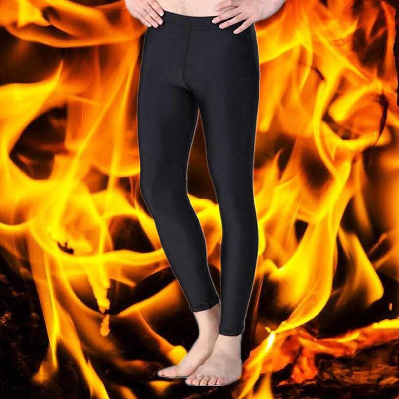Новое мужское термобелье штаны термос нижний стиль Легинсы термо нижнее белье для мужчин компрессионное Тело Shaper шорты для тренировки
