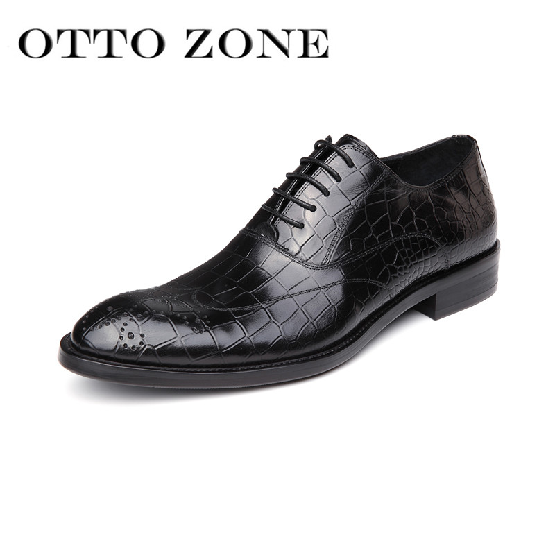 Shoes Careful Sipriks Imported Genuine Leather Red Brown Dress Shoes For Men Fashion Alligator Skin Wedding Shoes Business Office Work Flats