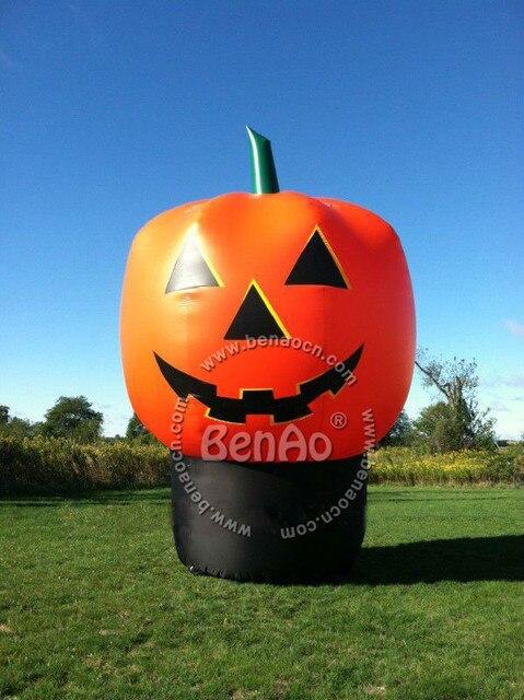 H027 Бесплатная доставка Оптовая продажа! высота 3 м диаметр гигантские надувные Хэллоуина тыквы с вентилятором для Хэллоуина украшения