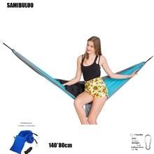 SAMIBULUO Parachute Hammock 1 Person Hammocks Travel 210d Nylon Fabric Camping Hamac