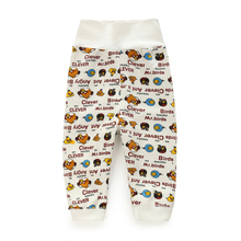 YiErYing  Baby Clothes Spring and Autumn Winter Infant High Waist Pants Thicker Cartoon Leisure Newborns Trousers