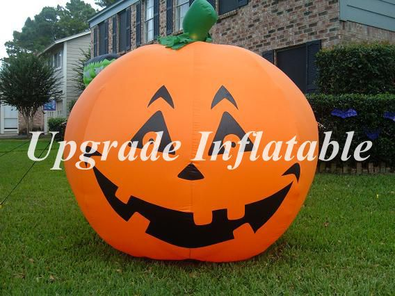 Giant 8ft Lighted Jack O Lantern Inflatable Pumpkin For Decoration In Ballons Accessories From Home Garden On Aliexpress Alibaba