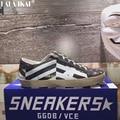 GGDB Zapatos Casual Hombres Zapatos Bajos Zapatos Originales de la Marca Sucia Diseño Stella Casual Zapatos Mocasines Zapatos de Cuero Genuinos Scarpe XMA0669-2